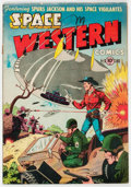 Golden Age (1938-1955):Science Fiction, Space Western #41 (Charlton, 1952) Condition: VG-....