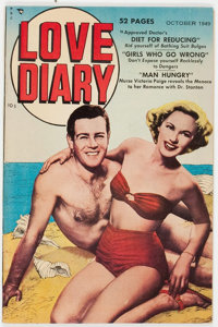 Love Diary #2 (Our Publishing Co./Toytown/Patches, 1949) Condition: VF+