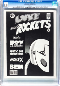 Love and Rockets #1 (A Hernandez Production, 1981) CGC NM/MT 9.8 White pages