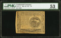 Continental Currency May 10, 1775 $4 PMG About Uncirculated 53