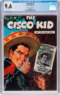 The Cisco Kid #3 Mile High Pedigree (Dell, 1951) CGC NM+ 9.6 White pages