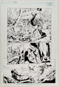 Mike McKone and Marlo Alquiza Teen Titans #12 Story Page 8 Original Art (DC, 200 Comic Art