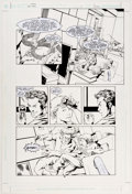 Mike McKone and Marlo Alquiza Teen Titans #2 Story Page 6 Original Art (DC, 2003 Comic Art