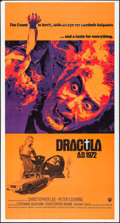 "Movie Posters:Horror, Dracula A.D. 1972 (Warner Brothers, 1972). International ThreeSheet (41"" X 77""). Horror.. ..."