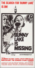 """Movie Posters:Mystery, Bunny Lake is Missing (Columbia, 1965). Three Sheet (41"""" X 79"""").Mystery.. ..."""