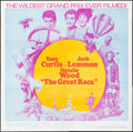 "Movie Posters:Comedy, The Great Race (Warner Brothers, 1965). International Six Sheet(80"" X 79""). Comedy.. ..."
