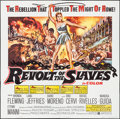 "Movie Posters:Adventure, The Revolt of the Slaves (United Artists, 1961). Six Sheet (80"" X79""). Adventure.. ..."