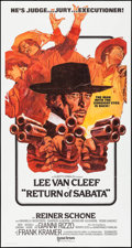 "Movie Posters:Western, Return of Sabata (United Artists, 1971). International Three Sheet(41"" X 77""). Western.. ..."