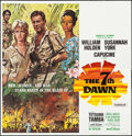 """Movie Posters:Adventure, The Seventh Dawn (United Artists, 1964). Six Sheet (79"""" X 80"""").Adventure.. ..."""