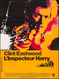 """Movie Posters:Crime, Dirty Harry (Warner-Columbia, 1971). French Grande (46"""" X 61"""").Crime.. ..."""