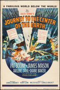 "Movie Posters:Science Fiction, Journey to the Center of the Earth (20th Century Fox, 1959). Poster(40"" X 60""). Science Fiction.. ..."