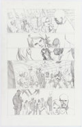 Leinil Francis Yu New Avengers #34 Story Page 20 Original Art (Marvel, 2007) Comic Art