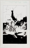 Ryan Sook - Batman vs. the Undead Illustration Original Art (2002) Comic Art