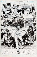 Original Comic Art:Panel Pages, Peter Snejbjerg and Keith Champagne Starman #61 Story Page 6Original Art (DC, 2000)....