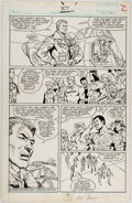 Javier Saltares and Jose Marzan Jr. G.I. Joe Special Missions #27 Story Page 2 O Comic Art