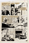 Dave Simons Web of Spider-man #27 Story Page 6 Original Art (Marvel, 1987) Comic Art
