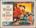"Movie Posters:Drama, All That Heaven Allows (Universal International, 1955). Half Sheet(22"" X 28"") Style A. Drama.. ..."