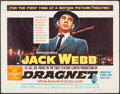 "Movie Posters:Crime, Dragnet & Other Lot (Warner Brothers, 1954). Half Sheets (2)(22"" X 28""). Crime.. ... (Total: 2 Items)"