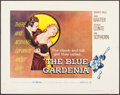 "Movie Posters:Crime, The Blue Gardenia (Warner Brothers, 1953). Half Sheet (22"" X 28"").Crime.. ..."