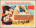 """Movie Posters:Adventure, Legend of the Lost (United Artists, 1957). Half Sheet (22"""" X 28"""")Style B. Adventure.. ..."""