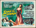 "Movie Posters:Horror, Cult of the Cobra (Universal International, 1955). Half Sheet (22""X 28"") Style B. Horror.. ..."