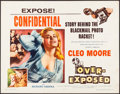 "Movie Posters:Bad Girl, Over-Exposed (Columbia, 1956). Half Sheet (22"" X 28"") Style B. Bad Girl.. ..."