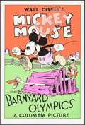 """Movie Posters:Animation, Barnyard Olympics (Circle Fine Art, R-1980s). Serigraphs (6) Identical (21"""" X 30.75""""). Animation.. ... (Total: 6 Items)"""