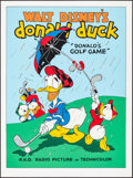 "Movie Posters:Animation, Donald's Golf Game (Circle Fine Art, R-1980s). Fine Art Serigraphs(5) (Identical) (22.5"" X 30.5""). Animation. ... (Total: 5 Items)"
