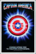 """Movie Posters:Action, Captain America (Columbia/Tristar, 1990). One Sheets (10) Identical(27"""" X 41"""") SS Advance. Action.. ... (Total: 10 Items)"""