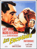 "Movie Posters:Hitchcock, Notorious (Buena Vista International, R-2008). French Grande (47"" X62.5""). Hitchcock.. ..."