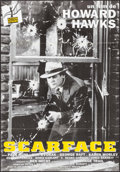 "Movie Posters:Crime, Scarface (Action, R-1990s). French Poster (31.5"" X 47.25""). Crime....."