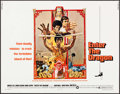 "Movie Posters:Action, Enter the Dragon (Warner Brothers, 1973). Half Sheet (22"" X 28"")Bob Peak Artwork. Action.. ..."