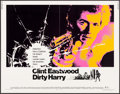 """Movie Posters:Crime, Dirty Harry (Warner Brothers, 1971). Half Sheet (22"""" X 28""""). Crime.. ..."""