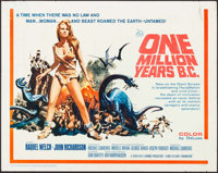 "One Million Years B.C. (20th Century Fox, 1966). Half Sheet (22"" X 28""). Fantasy"