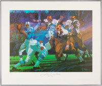 1970s Sports Illustrated Signed Lithograph Displays - Complete Set of 12