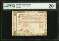 Colonial Notes:Georgia, Georgia 1776 £1 PMG Very Fine 20 Net.. ...