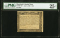 Colonial Notes:Maryland, Maryland June 8, 1780 $2/3 PMG Very Fine 25 Net.. ...