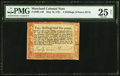 Colonial Notes:Maryland, Maryland May 10, 1781 2s 6d PMG Very Fine 25 Net.. ...