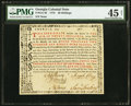 Colonial Notes:Georgia, Georgia 1773 20s PMG Choice Extremely Fine 45 Net.. ...