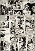 Original Comic Art:Panel Pages, Barry Smith, Sal Buscema, Dan Adkins, and Chic Stone Conan theBarbarian #23 Story Page 16 Original Art (Marvel, 1...