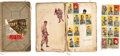 Baseball Cards:Lots, 1910's Baseball Scrapbook With Tobacco and Candy Cards with Cobb& Wagner. ...