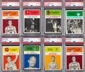 Basketball Cards:Singles (Pre-1970), 1961 Fleer Basketball Card Collection (77) With West Rookie. ...