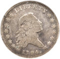 Early Half Dollars, 1794 50C O-104, T-11, R.5 -- Obverse Scratched -- NCS. VF Details....