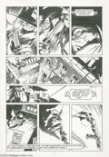 Original Comic Art:Panel Pages, Mike Kaluta - The Shadow, page 116 Original Art (DC, 1989). When DCComics began its The Shadow series in 1973, William ...