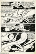 Original Comic Art:Panel Pages, Gil Kane and Vince Colletta - Green Lantern #70, page 3 Original Art (DC, 1969). The Emerald Gladiator takes some rather ext...