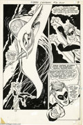 Original Comic Art:Panel Pages, Gil Kane and Vince Colletta - Green Lantern #70, page 4 OriginalArt (DC, 1969). GL metes out lethal justice (with the appro...