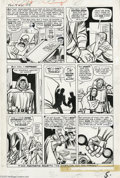 Original Comic Art:Panel Pages, Jack Kirby and Dick Ayers - Fantastic Four #10, page 5 Original Art(Marvel, 1963)....