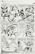 Original Comic Art:Panel Pages, Jack Kirby and Vince Colletta - Fantastic Four #40, page 11Original Art (Marvel, 1965). Daredevil lent a helping hand to th...