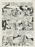 Original Comic Art:Panel Pages, Jack Kirby - Adventure Comics #86 Sandman Story, page 4 OriginalArt (DC, 1943). Jack Kirby and Joe Simon were a busy team d...