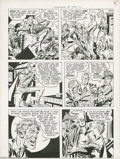 Original Comic Art:Panel Pages, Jack Kirby and Joe Simon - Stuntman #1, page 9 Original Art(Harvey, 1946). When they returned from the war in 1945, Joe Sim...